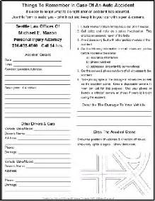 car accident car accident report form pdf