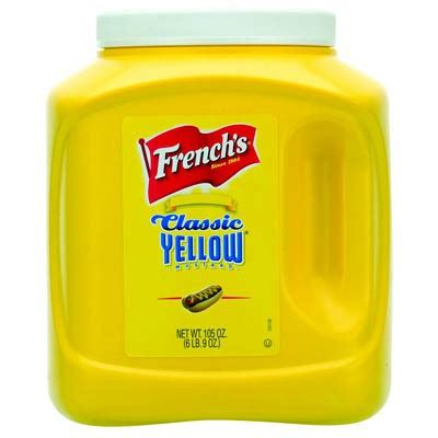 Classic Yellow Mustard By Sokolati buy s classic yellow mustard big american food shop