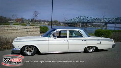 64 impala air ride 1958 1964 chevy impala deluxe ez air ride suspension kit