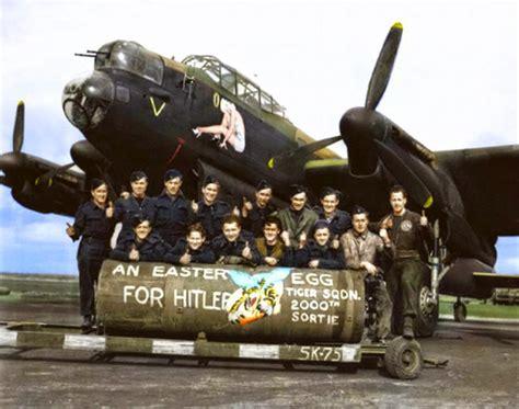 Lancaster Records 424 Squadron Lancaster I Rf150 Qb W F O Watson Raf