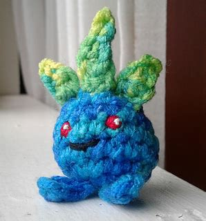 amigurumi oddish pattern ravelry a tiny oddish appears pokemon amigurumi pattern