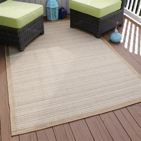 Kmart Outdoor Rug Lavish Home Casual Stripe Indoor Outdoor Area Rug