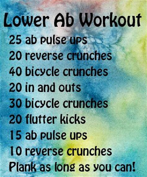 best 25 ab workout ideas on flat
