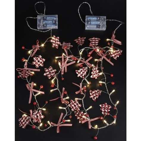 light up christmas trees or snowflakes bows festive garland