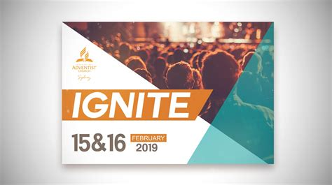 ignite  announcement banner full adventist church  sydney