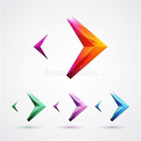 design elements by ultimate symbol arrow symbol logo design element stock vector