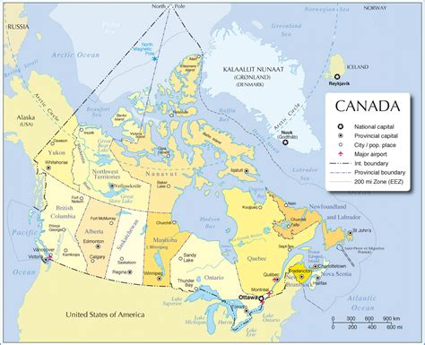 political map canada political map of canada canada political map canada city