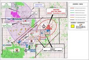 weld county map colorado enerjex resources announces entrance into horizontal