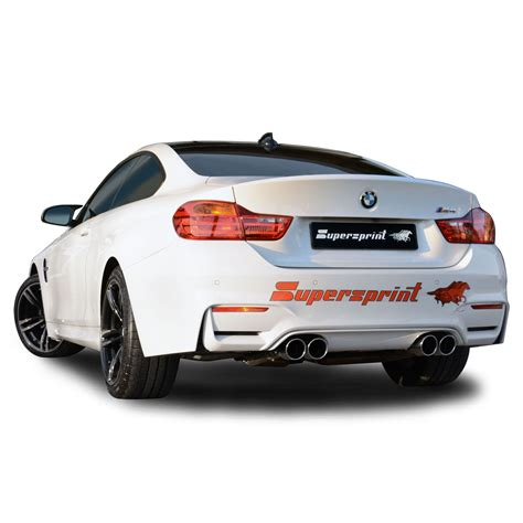 Supersprint Catback System Bmw F30 320 N20 Engine Before Lift bmw f82 m4 coup 232 431 hp gt supersprint exhaust system official