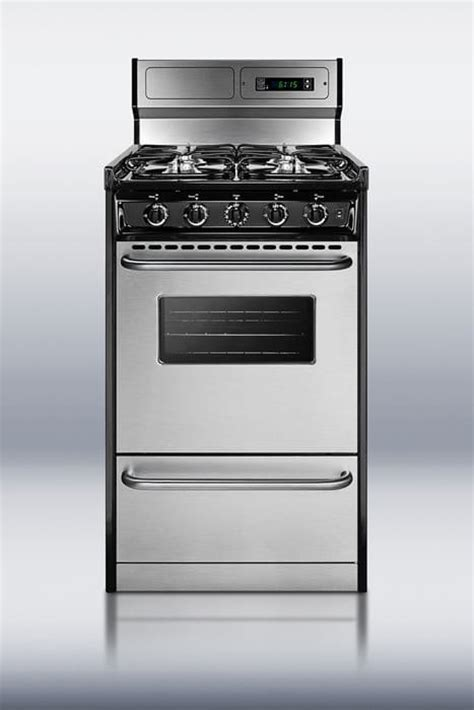 Drop In Gas Range With Oven No Drawer by Summit Tlm13027bfkwy 20 Inch Freestanding Gas Range With 4