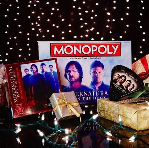 gifts for supernatural hunting for the holidays supernatural merchandise