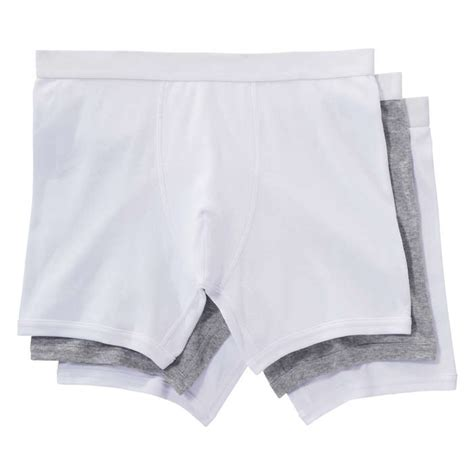 3 Pack Jersey Boxers men s 3 pack jersey boxer briefs in white from joe fresh