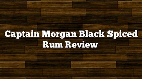 captain rum review captain black spiced rum review bourbonblog