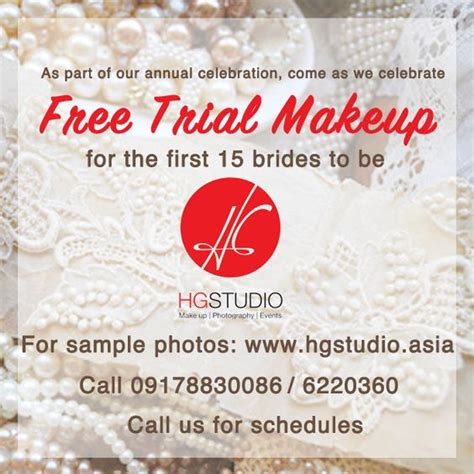 Wedding Anniversary Date Ideas Philippines by Hg Studio S Anniversary Promo Avail It Now Here Http