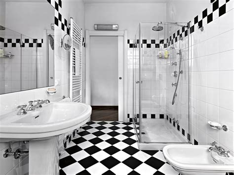 black and white checkered bathroom floor how to design a luxurious master bathroom