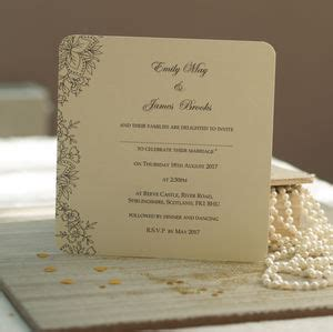 Wedding Invitations Sles by Wedding Invite Sles 100 Images Wedding Invitation
