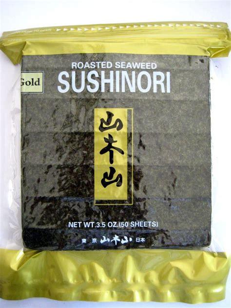 Manjun Yaki Sushi Nori 50 Sheet sushi toasted seaweed sheets yaki nori 50 sheets