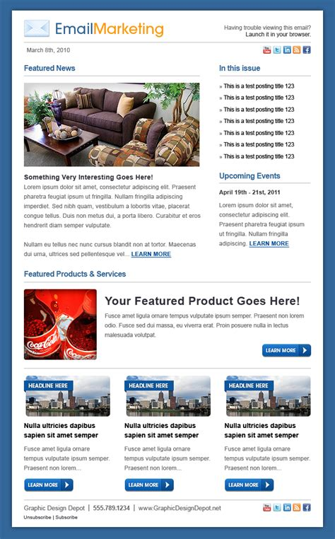 email marketing template email marketing template by xstortionist on deviantart