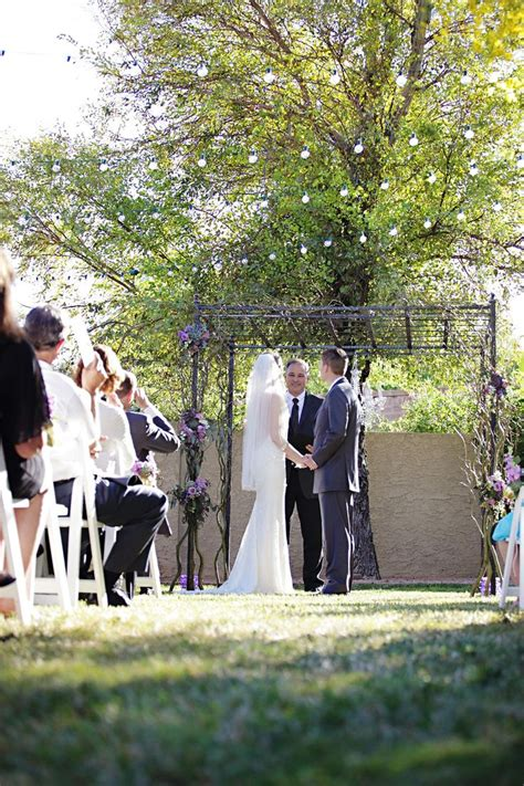 How To Throw A Backyard Wedding by The Pros And Cons Of Throwing A Backyard Wedding Outdoor