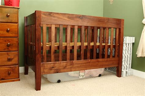 Walnut Cribs by Crib For Second Walnut By Va Engineer