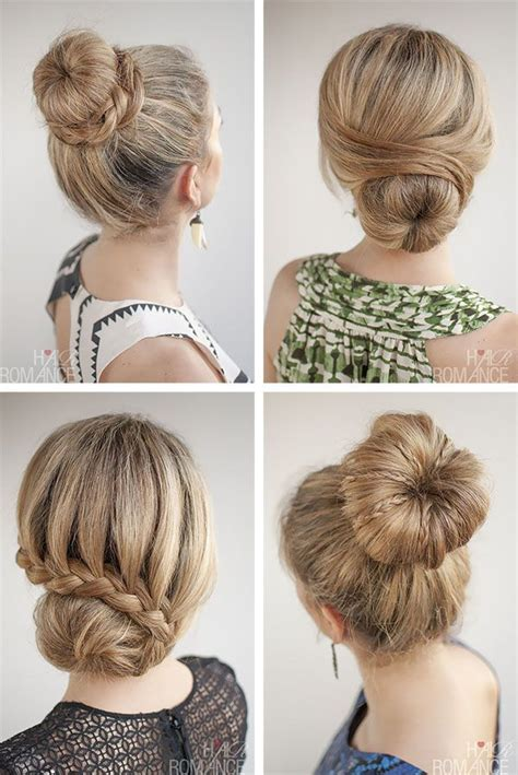 different hairstyle with a bun maker how many ways can you style a donut bun hair