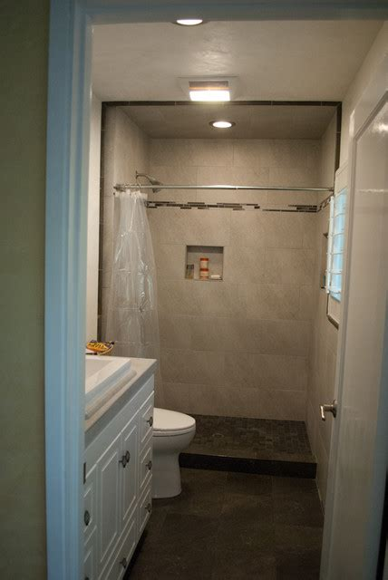 Remodeling Ideas For Small Bathrooms Small Bathroom Tile Design Traditional San Francisco