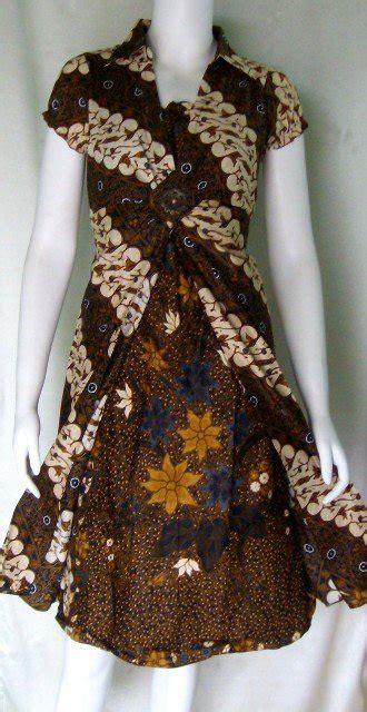 desain gaun batik modern model perpaduan kebaya batik hairstylegalleries com