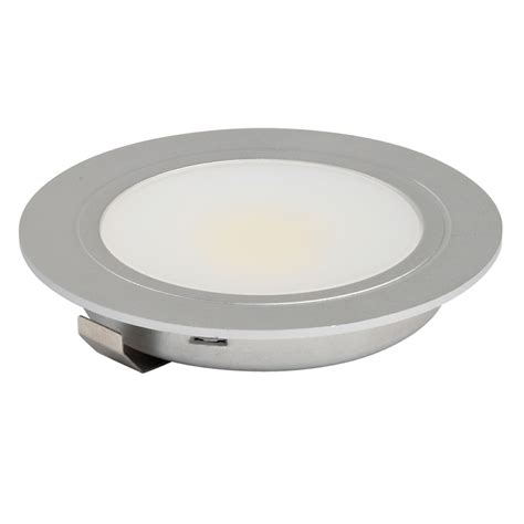 Cob Led 3w High Output Recessed Under Cabinet Downlight Recessed Cabinet Lighting