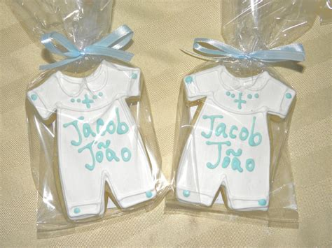 Christening Giveaways - cookie dreams cookie co boy christening cookie favors