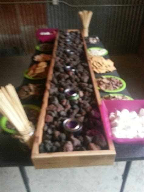17 Best Images About Smores On Pinterest The Rock River Sterno S Mores Buffet