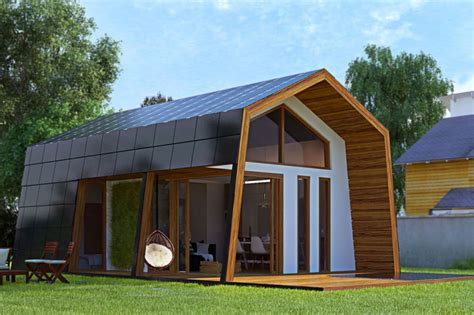 Prefab Cabins | ecokit s prefab cabin is sustainable home you can assemble for yourself
