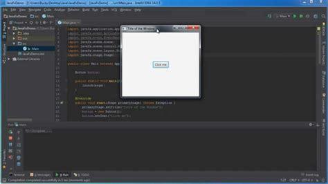 tutorial java gui javafx java gui tutorial 1 creating a basic window