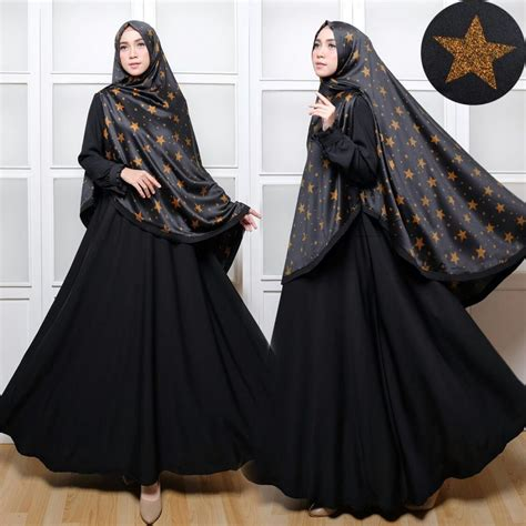 Busana Muslim Khimar Baju Muslim Syar I C018 Khimar Maxmara