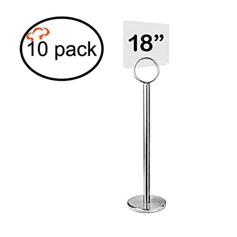 table number stand place card holder awardpedia tiger chef table number holder table card