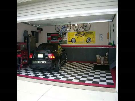 single car garage interior design ideas cool 2 car garage ideas