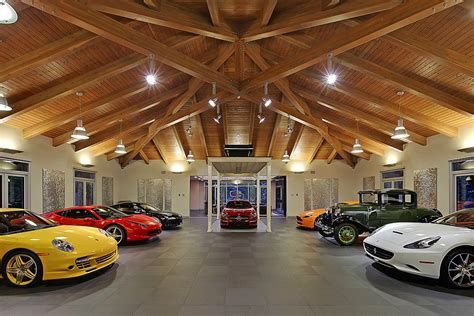 wondrous 4 million car collector themed house in