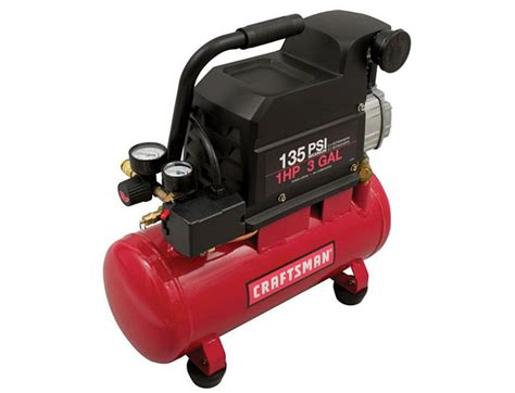 craftsman 3 gallon air compressor 65 off craftsman 3 gallon 135psi portable air compressor