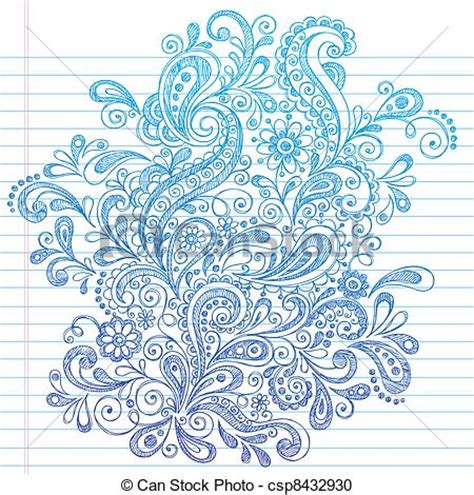 paisley doodle ideas abstract henna paisley doodle scribbles and doodles