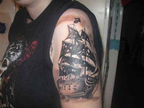 the black pearl tattoo my the black pearl by masterladynightmare on deviantart