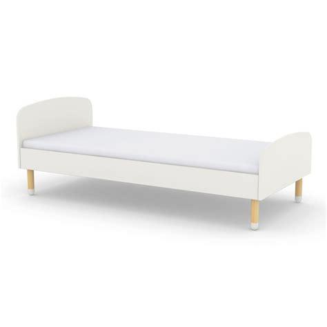 futon 90x200 child bed 90x200 cm white flexa play design children