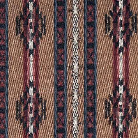 Navajo Upholstery Fabric striped southwest navajo style upholstery fabric by the