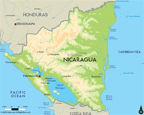 where is nicaragua on the world map atlas of nicaragua wikimedia commons with on world map