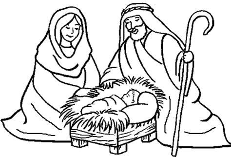 dibujos de navidad para colorear del nacimiento de jesus maestra de infantil nacimientos para colorear
