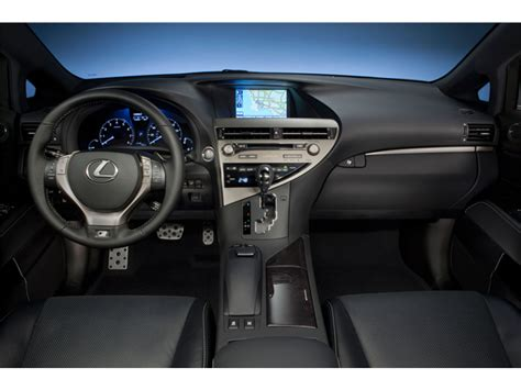 2013 lexus rx 350 interior 2013 lexus rx 350 prices reviews and pictures u s news