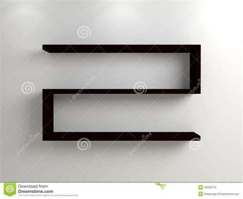 mensola moderna mensola moderna illustrazione di stock immagine 43590715