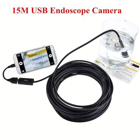 endoscope borescope inspection buy 10mm lens 4led waterproof car inspection