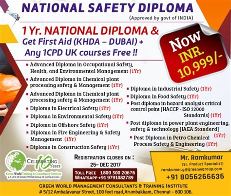 Diploma Courses In Usa After Mba by Green World Offers For Corporate Diploma Course In