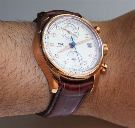 For New Cronograph iwc portuguese chronograph classic review page 3