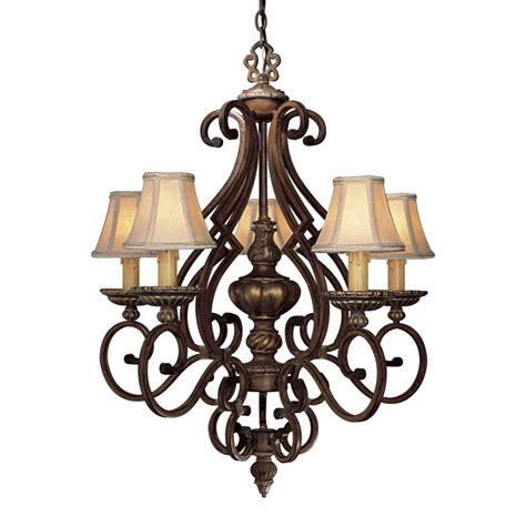 Minka Lavery 957 126 Belcaro Walnut 5 Light 33 Quot Height 1 Lighting Direct Chandeliers