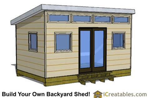 Studio Shed Plans by 10x16 Studio Shed Plans S1 10x12 Office Shed Plans